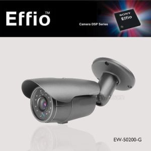 HD 700tvl Sony CCD Effio-E 24LED IR Night Vision Outdoor CCTV Security Camera (EW-50200-G)