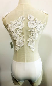 Women Fashion Bodysuit Sexy Lace Emb Clothes pictures & photos