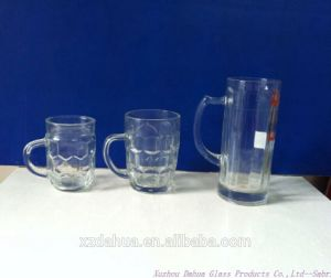 High Quality Glass Beer Mug with Handle pictures & photos