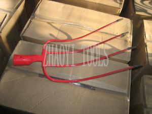 1001024 High Quality Hay Fork Prong Manure Fork Diging Forging Garden Spade Fork
