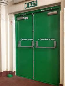 Steel Fire Door with UL Certified Britain Style pictures & photos