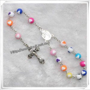 Fashion Handmade Plastic Beads Car Rosary (IO-CB126) pictures & photos