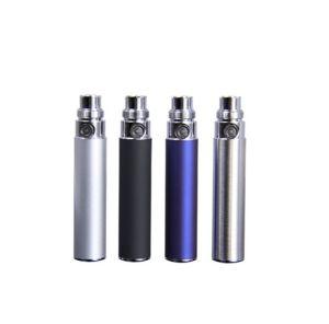 Stainless Steel Color EGO Battery 650mAh/900mAh/1100mAh/1300mAh EGO Battery for Ecigarette