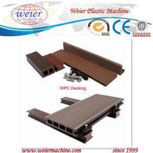 Wood Plastic Composite Profile Extruder/WPC Machine pictures & photos