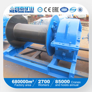 20ton 10m/Min Low Speed Electric Winch, Boat Winch pictures & photos