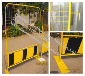 Powder Coated Temporary Fence (R-LSHL) pictures & photos