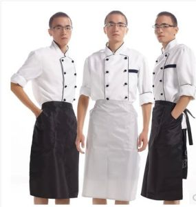Waterproof PVC Chef Cooking Kitchen Waist Apron pictures & photos