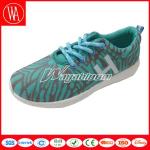 Fancy Lace-up Students Sports Shoes pictures & photos