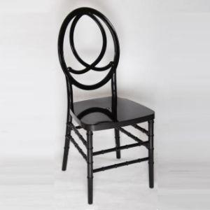Black Chiavari Tiffany Napoleon Infinitiy Phoenix Wedding Chair pictures & photos