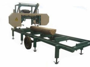 Diesel Engine Portable Sawmill Mj1000 pictures & photos