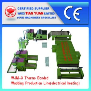 Wjm-3 Nonwoven Glue Free Wadding Line, Felt Machines pictures & photos