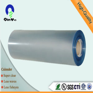 Super Clear Glossy PVC Plastic Sheet for Offset Printing pictures & photos