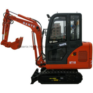 Low Price CE 1.8tons Hydraulic Mini Digger with Silencer pictures & photos