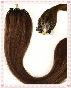 Malaysian Remy Loop Ring Human Hair Extensions pictures & photos