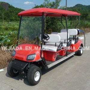 8 Seat Electric Utility Vehicle with Sunshade pictures & photos