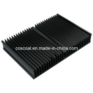Aluminium/Aluminum Heat Sink (with ISO9001: 2008 Certificated& Black anodized) pictures & photos