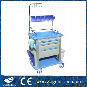 ABS Hospital Nursing Trolley (AG-NT003A1) pictures & photos