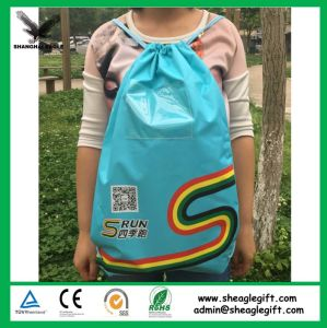 Wholesale Advertising Drawstring Goodie Bag pictures & photos
