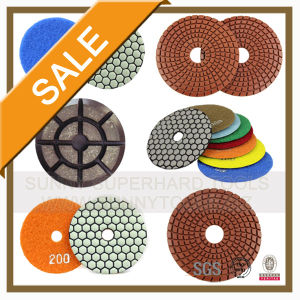 Wet and Dey Flexible Diamond Polishing Pad for Polishing (SUNNY) pictures & photos