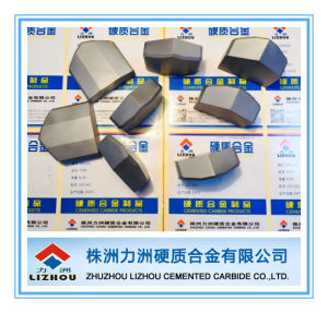 Sintered Hip Process Tungsten Carbide Brazed Tips pictures & photos