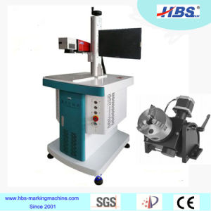Metal Plastic Marking Fiber Laser Marking Machine pictures & photos
