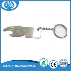 China Hot Sale Silver Plated Metal Beer Bottle Opener pictures & photos