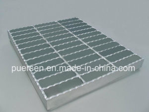 Hot Dipped Galvanized Serrated Type Steel Grating pictures & photos