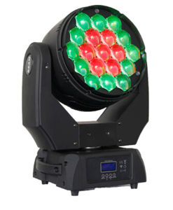 19PCS 15W RGBW LED Moving Head Wash Light with Zoom pictures & photos
