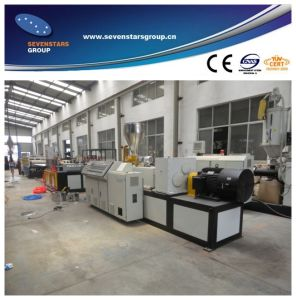 PVC Crust Foam Plate Exrtrusion Line pictures & photos