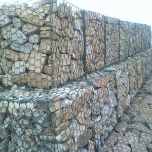 SGS, ISO Certificated Galvanized 2X1X1m Gabion Box pictures & photos