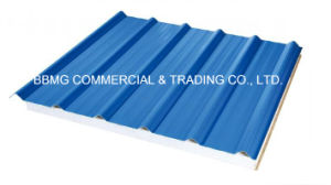 Prepainted PPGI Roofing Metal Profile/Corrugated Color Sheet Steel Plate pictures & photos