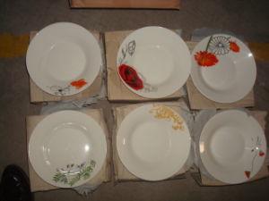 "7"" Porcelain Soup Plate Decal"