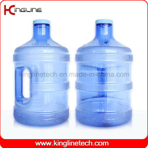 3.8L Plastic Water Jug Wholesale BPA Free with Handle (KL-8006) pictures & photos
