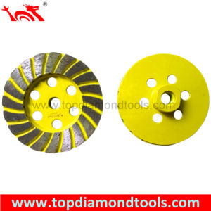 Diameter 100mm Double Turbo Cup Wheel pictures & photos
