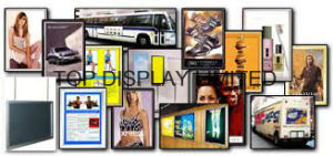 Aluminum Snap Wall Poster Frame Fast Change Poster Frames Alloy Frame Gold Black pictures & photos