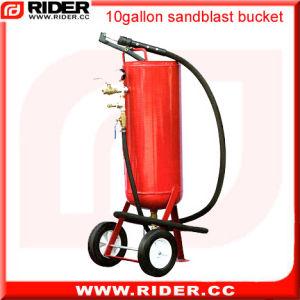 10 Gallon Protable Automatic Sandblasting Machine pictures & photos