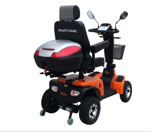 Four Wheels Electric Mobility Scooter with Rear Box pictures & photos