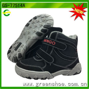 New Arrival Warm Children Winter Shoes pictures & photos