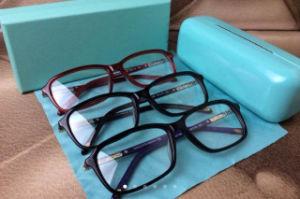 OEM Hand-Hand Acetate Glasses and Metal Logo Temple Myopia Lenses Frame