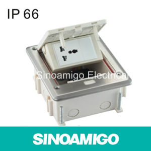 IP66 Watertight Floor Box Power Outlet Socket pictures & photos