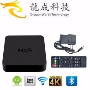 Mx4 Rockchip Rk3229 Quad Core Andorid 4.4 TV Box Mx4 1GB/8GB Kodi pictures & photos