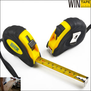 5m Rubber Steel Tape Measure as a Carpenter Tools pictures & photos