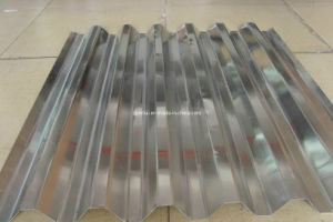 Mill-Finish Corrugated Aluminum Sheet for Roofing