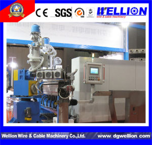 H05 Cable PVC Coating Extrusion Machine pictures & photos