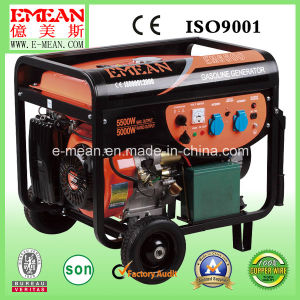 5.5 Kw High Quality Silent Power Gasoline Generator pictures & photos