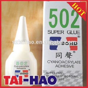 Hot Wholesale 502 Super Glue Cyanoacrylate Adhesive with Low Price