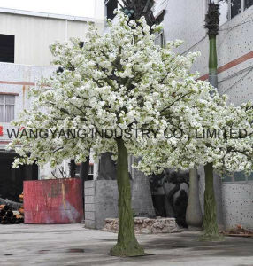 High Quality Cheap Price Factory Hot Sale Artificial Fake Handmade Sakura Cherry Blossom Tree for Decoration pictures & photos