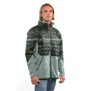 Men′s Verdigris Smoked Green Hybrid Down Jacket pictures & photos
