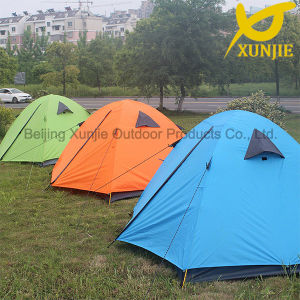 Camping Outdoor Double Layer Dome Colorful Tent