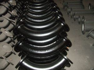 Double Flanged Long Radius Bend Ductile Iron pictures & photos